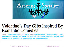 Aspiring Socialite, gennaio 2012 - Valentine's Day Gifts inspired by romantic comedies