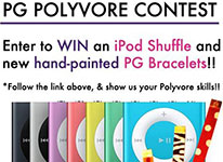 PG Bracelets Polyvore Contest - Win an Apple iPod Shuffle